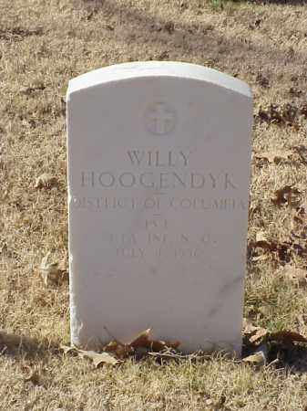 HOOGENDYK  (VETERAN WWI), WILLY - Pulaski County, Arkansas | WILLY HOOGENDYK  (VETERAN WWI) - Arkansas Gravestone Photos