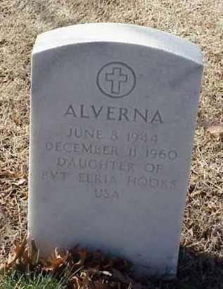 HOOKS, ALVERNA - Pulaski County, Arkansas | ALVERNA HOOKS - Arkansas Gravestone Photos