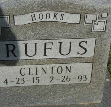 HOOKS, RUFUS CLINTON - Pulaski County, Arkansas | RUFUS CLINTON HOOKS - Arkansas Gravestone Photos