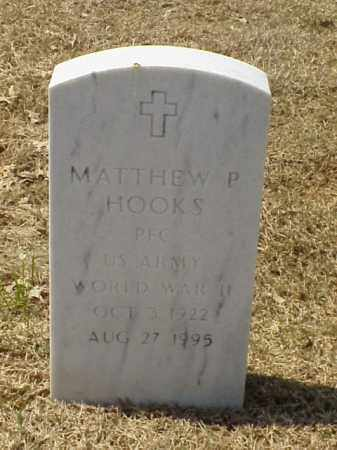 HOOKS (VETERAN WWII), MATTHEW P - Pulaski County, Arkansas | MATTHEW P HOOKS (VETERAN WWII) - Arkansas Gravestone Photos