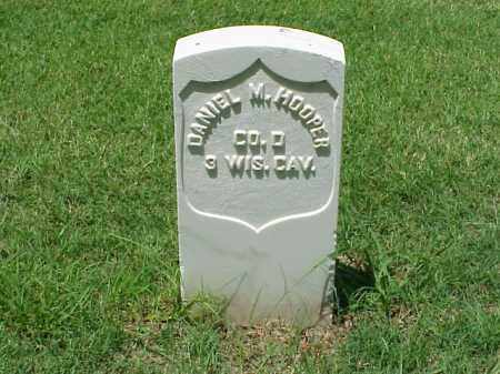 HOOPER (VETERAN UNION), DANIEL M - Pulaski County, Arkansas | DANIEL M HOOPER (VETERAN UNION) - Arkansas Gravestone Photos