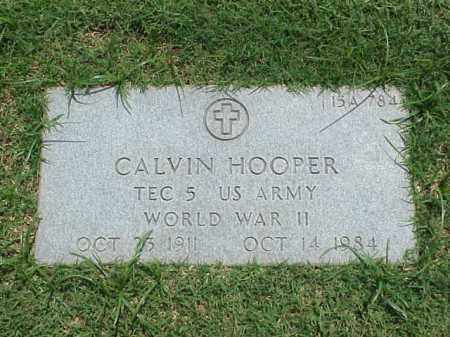 HOOPER (VETERAN WWII), CALVIN - Pulaski County, Arkansas | CALVIN HOOPER (VETERAN WWII) - Arkansas Gravestone Photos