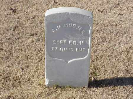 HOOVER  (VETERAN UNION), A M - Pulaski County, Arkansas | A M HOOVER  (VETERAN UNION) - Arkansas Gravestone Photos