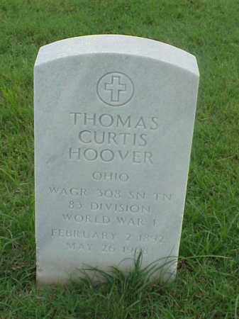HOOVER (VETERAN WWI), THOMAS CURTIS - Pulaski County, Arkansas | THOMAS CURTIS HOOVER (VETERAN WWI) - Arkansas Gravestone Photos