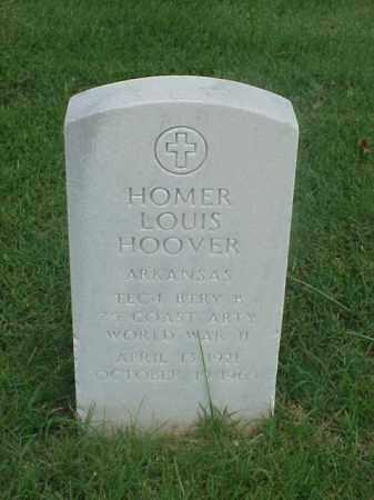 HOOVER (VETERAN WWII), HOMER LOUIS - Pulaski County, Arkansas | HOMER LOUIS HOOVER (VETERAN WWII) - Arkansas Gravestone Photos