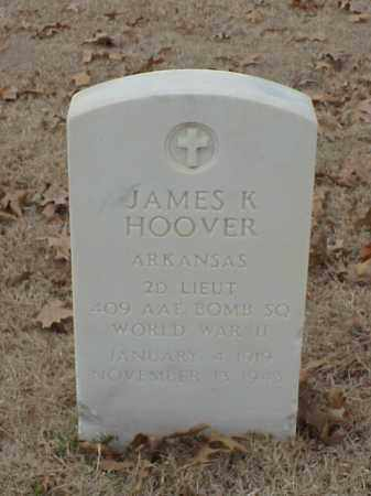 HOOVER (VETERAN WWII), JAMES K - Pulaski County, Arkansas | JAMES K HOOVER (VETERAN WWII) - Arkansas Gravestone Photos