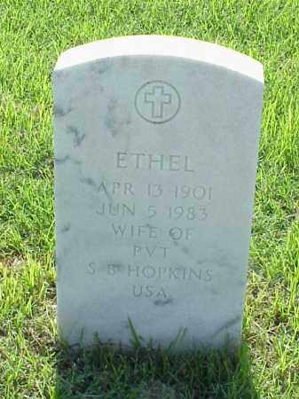 HOPKINS, ETHEL - Pulaski County, Arkansas | ETHEL HOPKINS - Arkansas Gravestone Photos