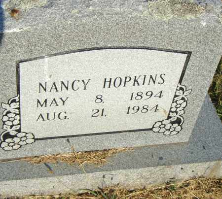 HOPKINS, NANCY - Pulaski County, Arkansas | NANCY HOPKINS - Arkansas Gravestone Photos