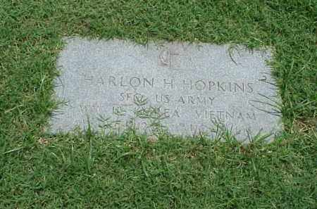 HOPKINS (VETERAN 3 WARS), HARLON H - Pulaski County, Arkansas | HARLON H HOPKINS (VETERAN 3 WARS) - Arkansas Gravestone Photos