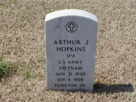 HOPKINS (VETERAN VIET), ARTHUR JAMES - Pulaski County, Arkansas | ARTHUR JAMES HOPKINS (VETERAN VIET) - Arkansas Gravestone Photos