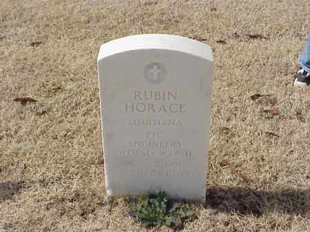 HORACE  (VETERAN WWII), RUBIN - Pulaski County, Arkansas | RUBIN HORACE  (VETERAN WWII) - Arkansas Gravestone Photos