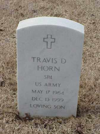 HORN  (VETERAN ), TRAVIS D - Pulaski County, Arkansas | TRAVIS D HORN  (VETERAN ) - Arkansas Gravestone Photos