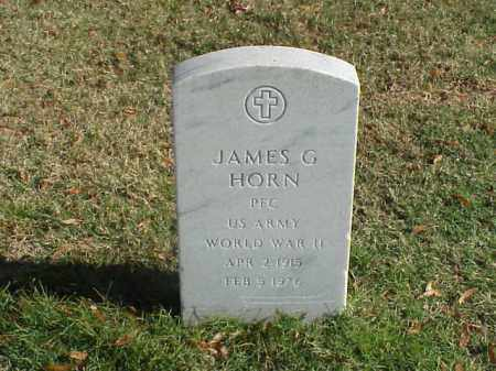 HORN  (VETERAN WWII), JAMES G - Pulaski County, Arkansas | JAMES G HORN  (VETERAN WWII) - Arkansas Gravestone Photos