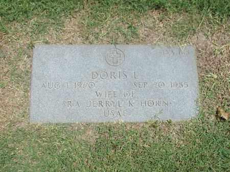 HORN, DORIS L - Pulaski County, Arkansas | DORIS L HORN - Arkansas Gravestone Photos