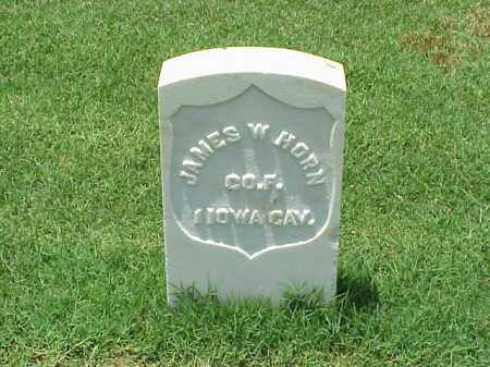 HORN (VETERAN UNION), JAMES W - Pulaski County, Arkansas | JAMES W HORN (VETERAN UNION) - Arkansas Gravestone Photos
