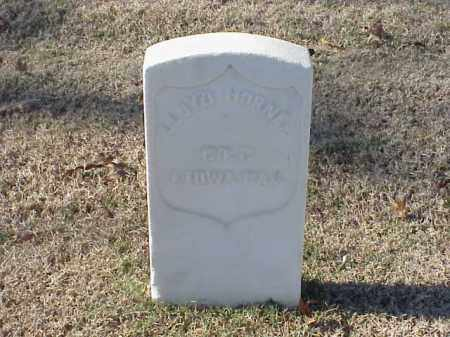 HORNER  (VETERAN UNION), LLOYD - Pulaski County, Arkansas | LLOYD HORNER  (VETERAN UNION) - Arkansas Gravestone Photos