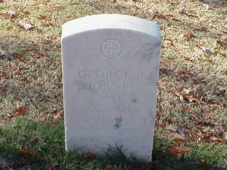HORNEY  (VETERAN WWII), GEORGE J - Pulaski County, Arkansas | GEORGE J HORNEY  (VETERAN WWII) - Arkansas Gravestone Photos