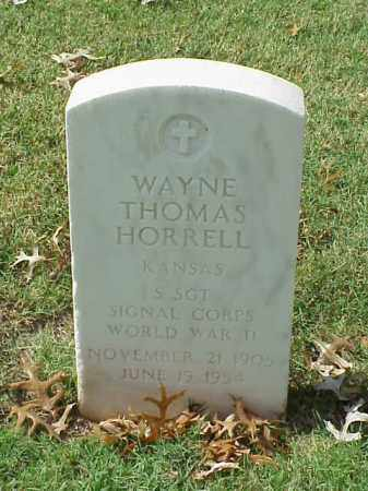 HORRELL  (VETERAN WWII), WAYNE THOMAS - Pulaski County, Arkansas | WAYNE THOMAS HORRELL  (VETERAN WWII) - Arkansas Gravestone Photos