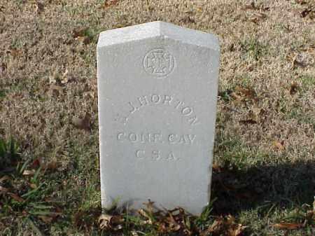 HORTON  (VETERAN CSA), H J - Pulaski County, Arkansas | H J HORTON  (VETERAN CSA) - Arkansas Gravestone Photos