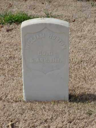 HORTON  (VETERAN UNION), WILLIAM - Pulaski County, Arkansas | WILLIAM HORTON  (VETERAN UNION) - Arkansas Gravestone Photos