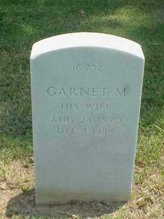 HORTON, GARNET M - Pulaski County, Arkansas | GARNET M HORTON - Arkansas Gravestone Photos