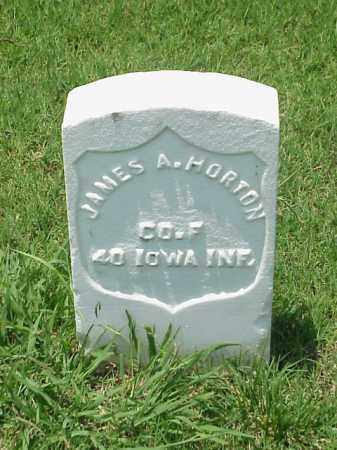 HORTON (VETERAN UNION), JAMES A - Pulaski County, Arkansas | JAMES A HORTON (VETERAN UNION) - Arkansas Gravestone Photos