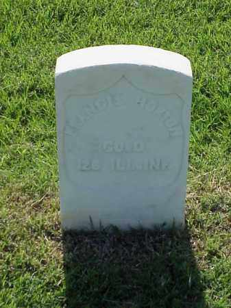 HORTON (VETERAN UNION), FRANCIS - Pulaski County, Arkansas | FRANCIS HORTON (VETERAN UNION) - Arkansas Gravestone Photos