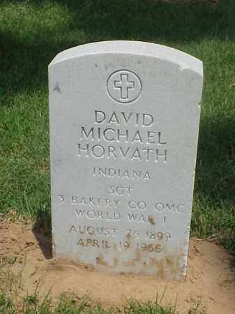 HORVATH (VETERAN WWI), DAVID MICHAEL - Pulaski County, Arkansas | DAVID MICHAEL HORVATH (VETERAN WWI) - Arkansas Gravestone Photos
