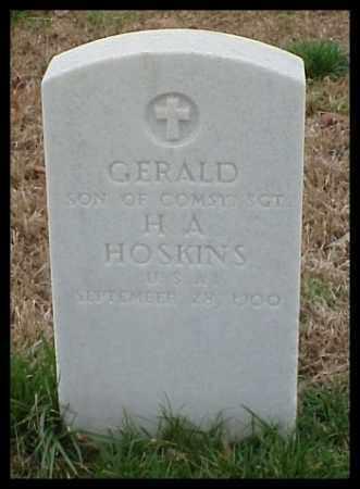 HOSKINS, GERALD - Pulaski County, Arkansas | GERALD HOSKINS - Arkansas Gravestone Photos