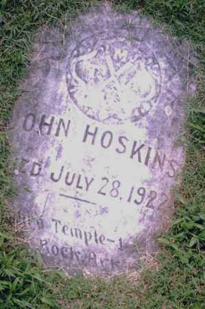 HOSKINS, JOHN - Pulaski County, Arkansas | JOHN HOSKINS - Arkansas Gravestone Photos