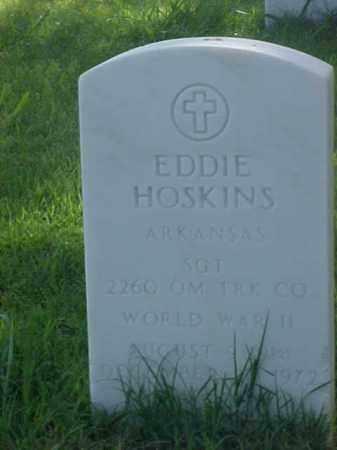 HOSKINS (VETERAN WWII), EDDIE - Pulaski County, Arkansas | EDDIE HOSKINS (VETERAN WWII) - Arkansas Gravestone Photos