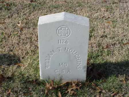HOUCHENS  (VETERAN CSA), WILLIAM T - Pulaski County, Arkansas | WILLIAM T HOUCHENS  (VETERAN CSA) - Arkansas Gravestone Photos