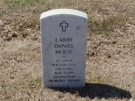 HOUSE  (VETERAN PGW), LARRY DANIEL - Pulaski County, Arkansas | LARRY DANIEL HOUSE  (VETERAN PGW) - Arkansas Gravestone Photos