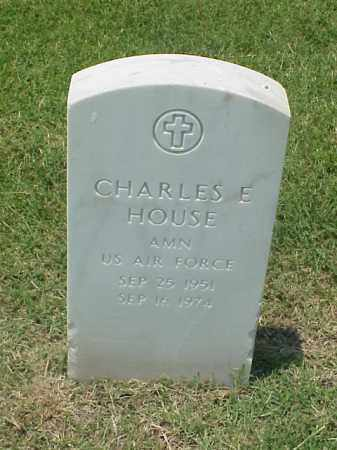 HOUSE (VETERAN VIET), CHARLES E - Pulaski County, Arkansas | CHARLES E HOUSE (VETERAN VIET) - Arkansas Gravestone Photos