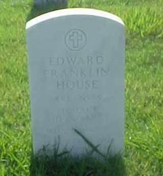 HOUSE (VETERAN WWII), EDWARD FRANKLIN - Pulaski County, Arkansas | EDWARD FRANKLIN HOUSE (VETERAN WWII) - Arkansas Gravestone Photos