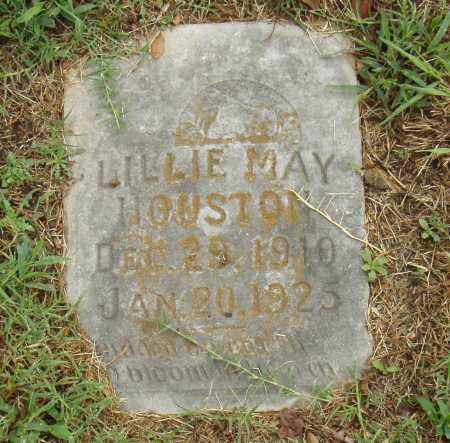 HOUSTON, LILLIE MAY - Pulaski County, Arkansas | LILLIE MAY HOUSTON - Arkansas Gravestone Photos