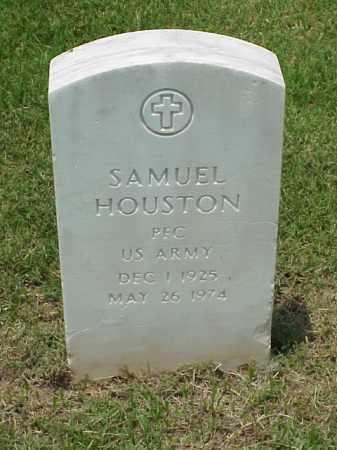 HOUSTON (VETERAN WWII), SAMUEL - Pulaski County, Arkansas | SAMUEL HOUSTON (VETERAN WWII) - Arkansas Gravestone Photos