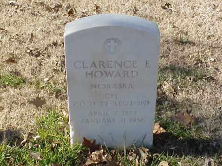 HOWARD  (VETERAN), CLARENCE E - Pulaski County, Arkansas | CLARENCE E HOWARD  (VETERAN) - Arkansas Gravestone Photos
