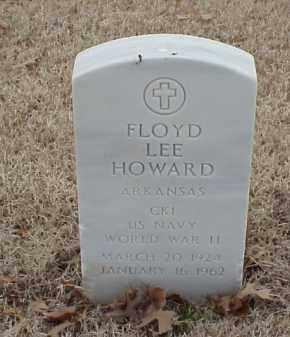 HOWARD  (VETERAN WWII), FLOYD LEE - Pulaski County, Arkansas | FLOYD LEE HOWARD  (VETERAN WWII) - Arkansas Gravestone Photos