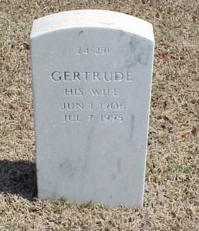 HOWARD, GERTRUDE - Pulaski County, Arkansas | GERTRUDE HOWARD - Arkansas Gravestone Photos