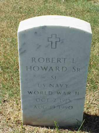 HOWARD, SR (VETERAN WWII), ROBERT L - Pulaski County, Arkansas | ROBERT L HOWARD, SR (VETERAN WWII) - Arkansas Gravestone Photos