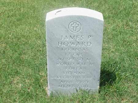 HOWARD (VETERAN 3 WARS), JAMES P - Pulaski County, Arkansas | JAMES P HOWARD (VETERAN 3 WARS) - Arkansas Gravestone Photos