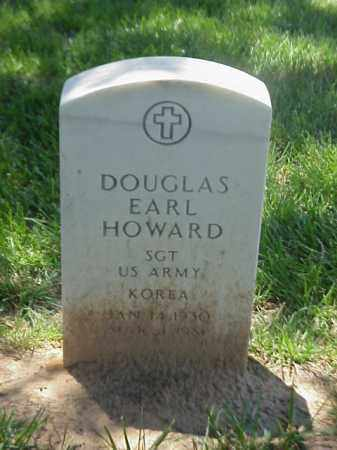 HOWARD (VETERAN KOR), DOUGLAS EARL - Pulaski County, Arkansas | DOUGLAS EARL HOWARD (VETERAN KOR) - Arkansas Gravestone Photos