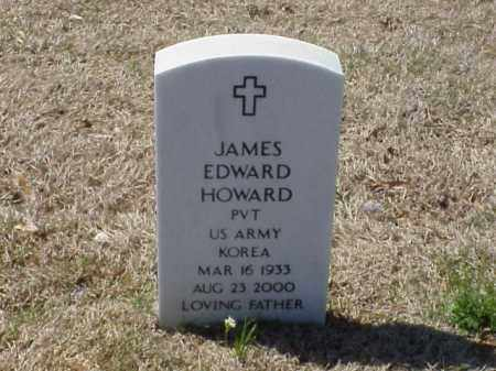 HOWARD (VETERAN KOR), JAMES EDWARD - Pulaski County, Arkansas | JAMES EDWARD HOWARD (VETERAN KOR) - Arkansas Gravestone Photos