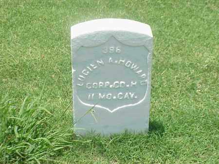 HOWARD (VETERAN UNION), LUCIEN A - Pulaski County, Arkansas | LUCIEN A HOWARD (VETERAN UNION) - Arkansas Gravestone Photos