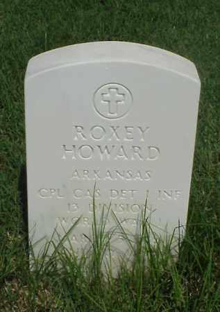 HOWARD (VETERAN WWI), ROXEY - Pulaski County, Arkansas | ROXEY HOWARD (VETERAN WWI) - Arkansas Gravestone Photos