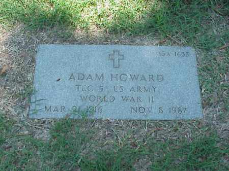 HOWARD (VETERAN WWII), ADAM - Pulaski County, Arkansas | ADAM HOWARD (VETERAN WWII) - Arkansas Gravestone Photos