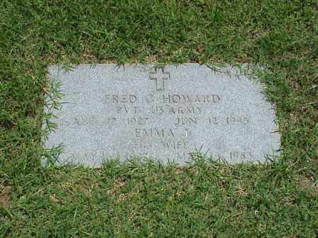 HOWARD (VETERAN WWII), FRED G - Pulaski County, Arkansas | FRED G HOWARD (VETERAN WWII) - Arkansas Gravestone Photos