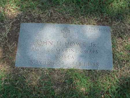HOWE, JR (VETERAN KOR), JOHN H - Pulaski County, Arkansas | JOHN H HOWE, JR (VETERAN KOR) - Arkansas Gravestone Photos