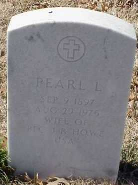 HOWE, PEARL L. - Pulaski County, Arkansas | PEARL L. HOWE - Arkansas Gravestone Photos